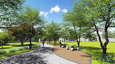 景观设计可以增加人们与景观的互动性