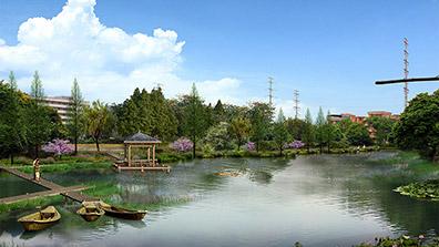城镇滨水绿地园林景观设计的理念总结