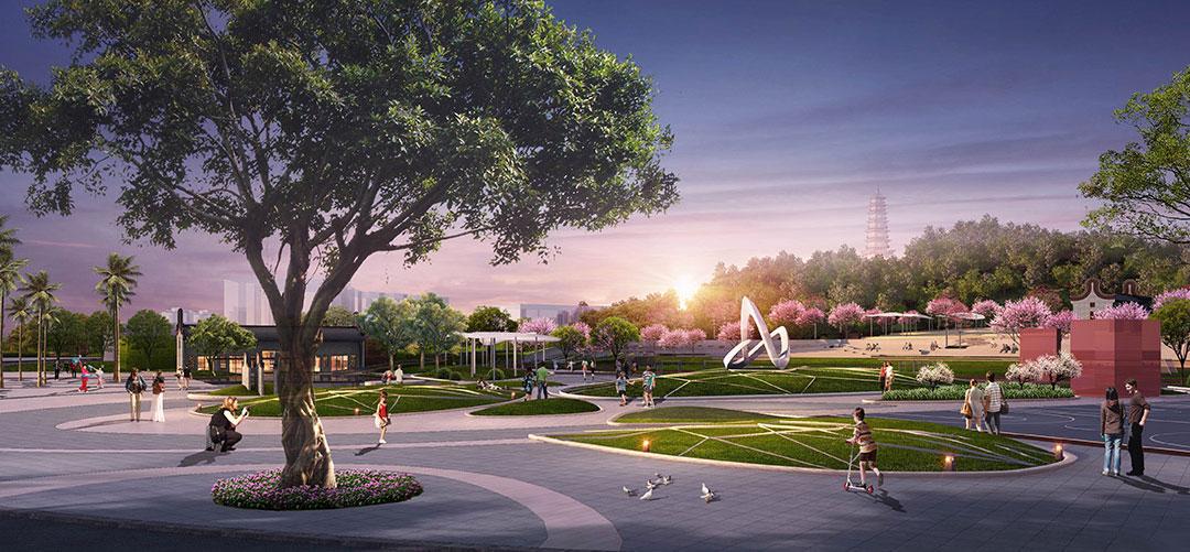 公园景观设计图片