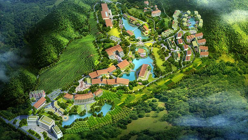 碧森养老养生度假村项目规划设计1