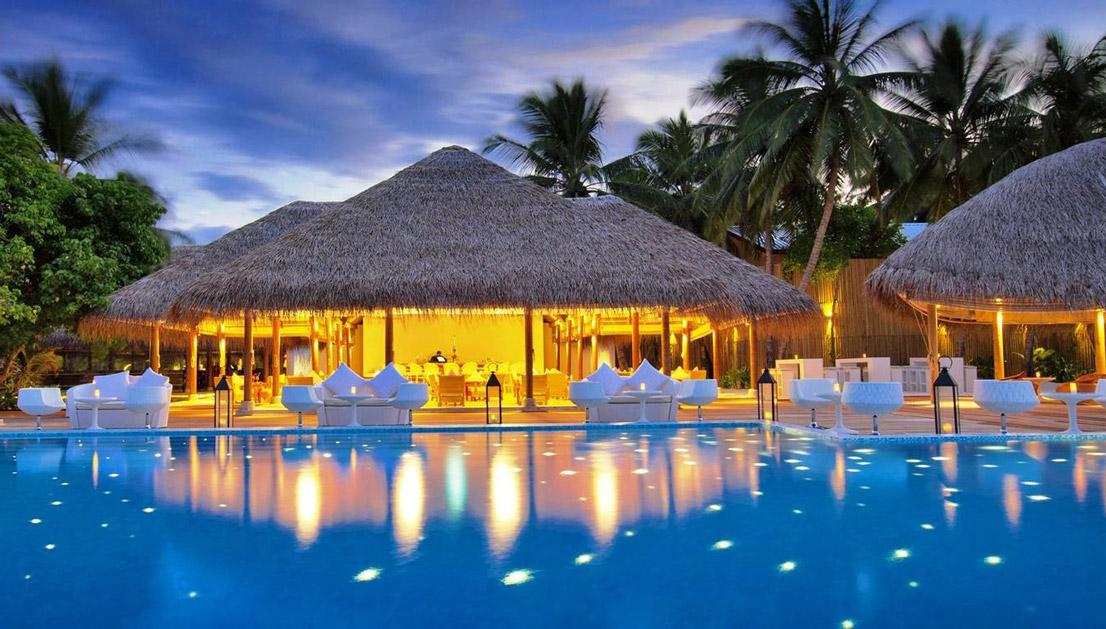 度假酒店景观设计图片