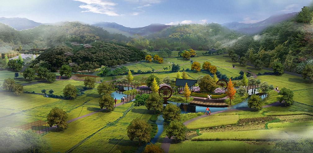 农业观光景观规划设计图片