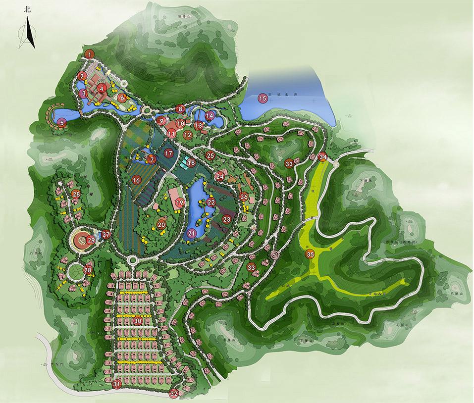 农业观光景观规划设计图片2