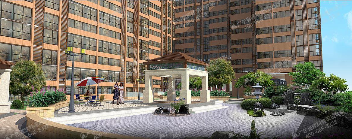 连州现代国际广场景观设计