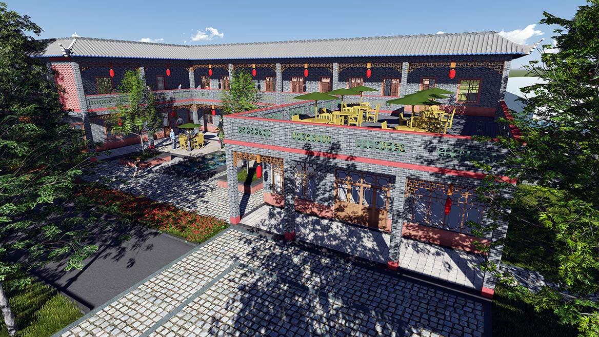 高埗镇芦村特色村庄规划设计7