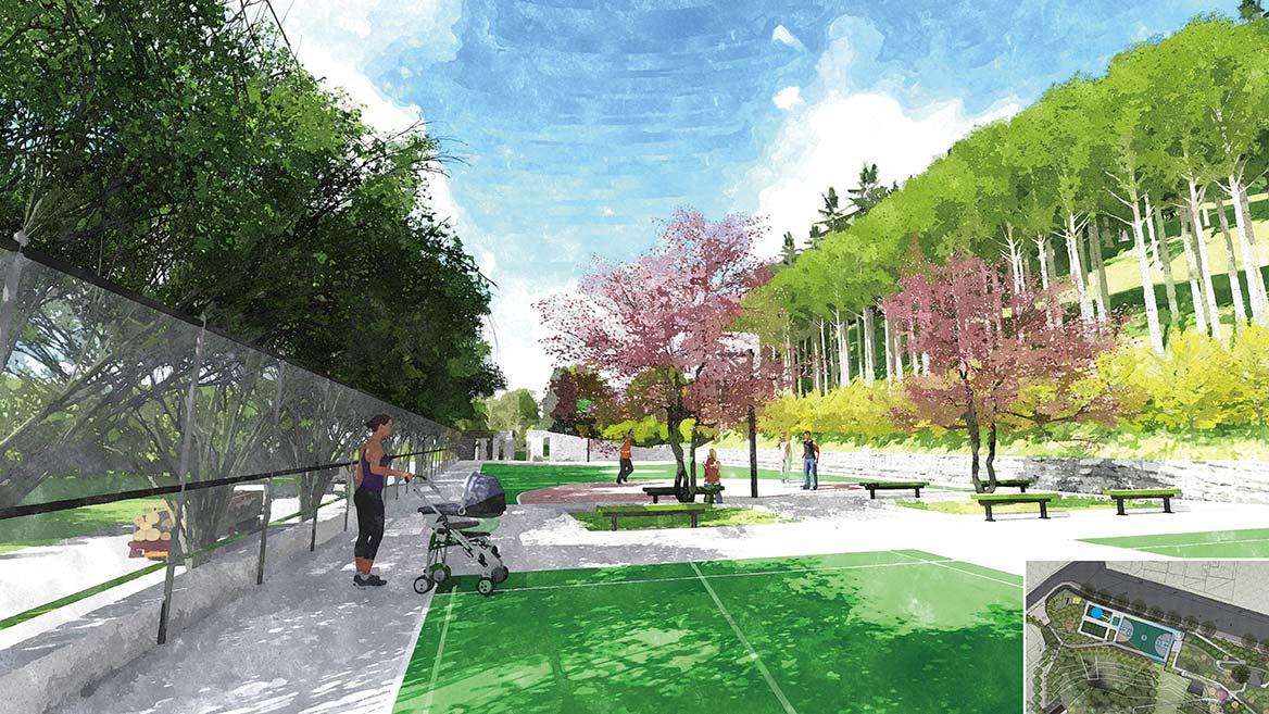 太公岭公园设计