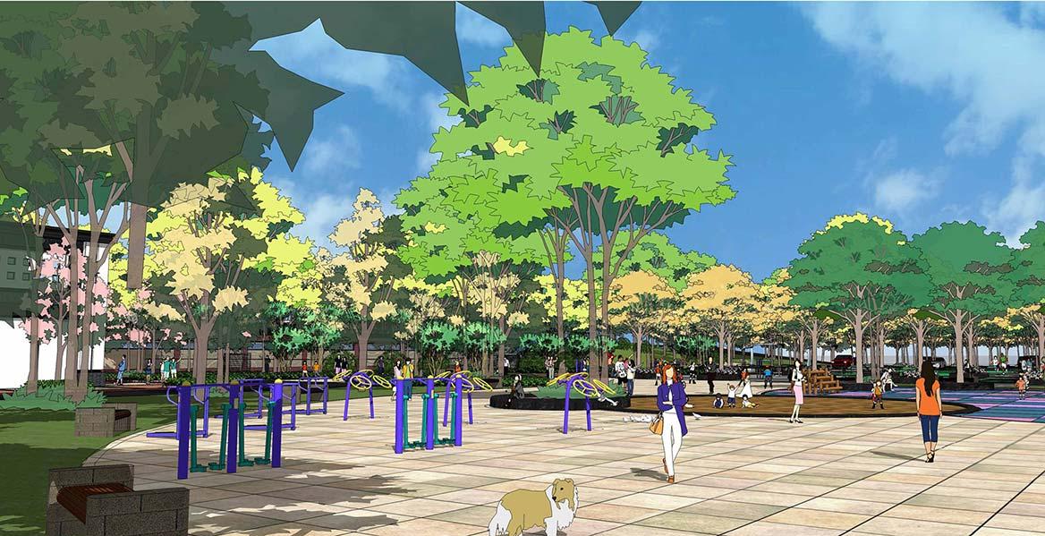 清远静福广场地块整体规划设计