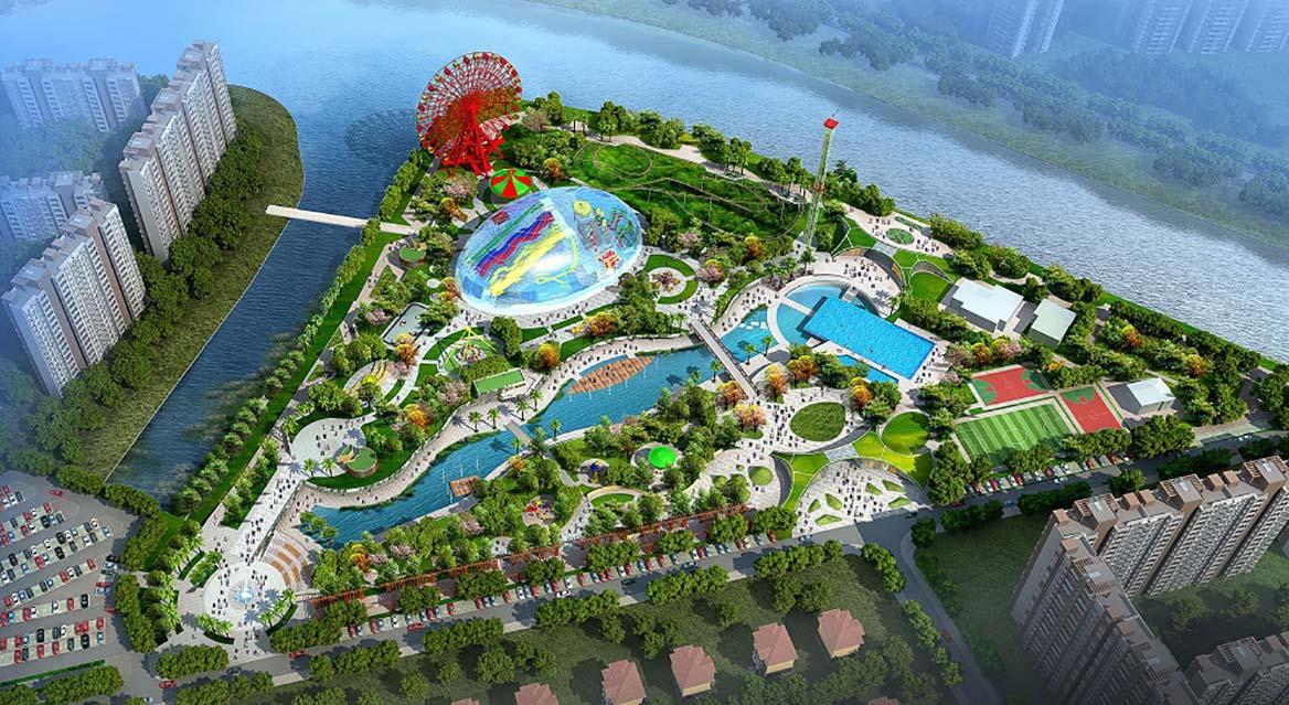 东莞市樟木头滨江水上世界主题公园规划方案图1