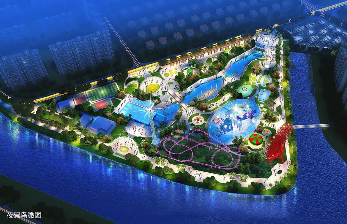 东莞市樟木头滨江水上世界主题公园规划方案图4