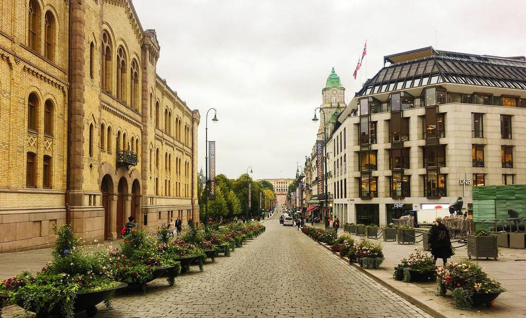 城市街景设计图片