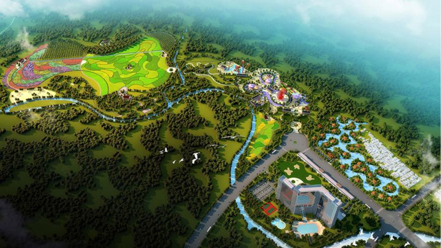 碧森旅游度假中心规划设计