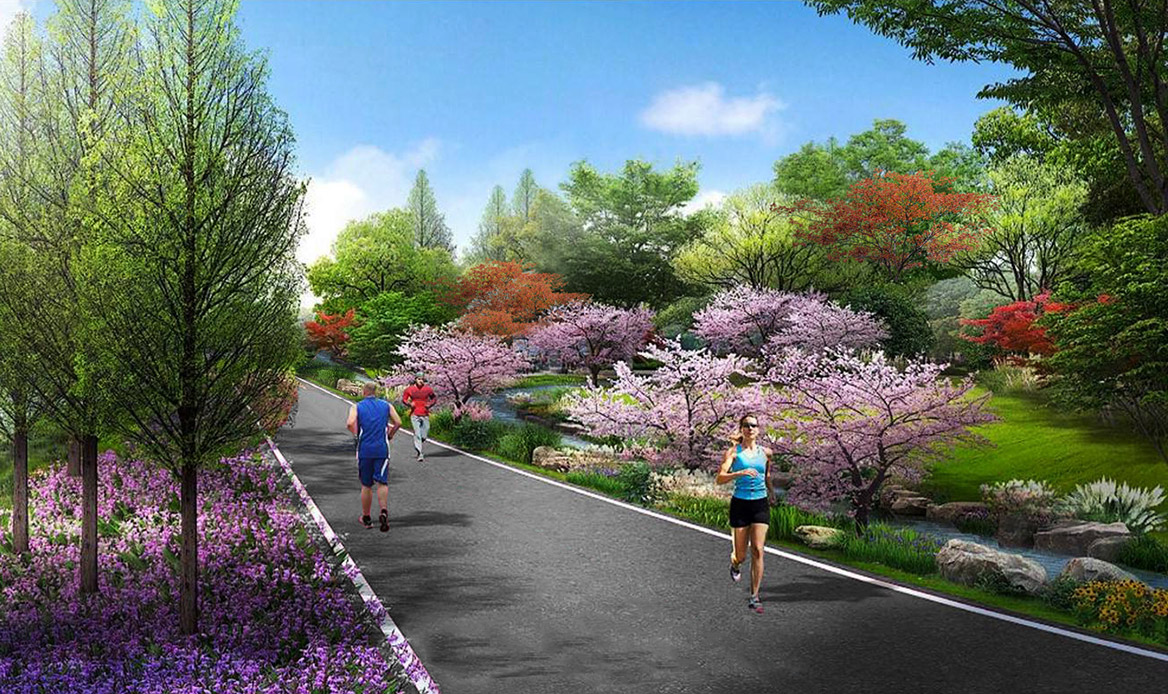 张家界悬崖花开养生谷总体规划设计效果图9