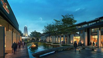 商业步行街景观设计的几点经验总结