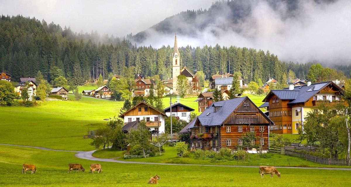 旅游特色小镇图片