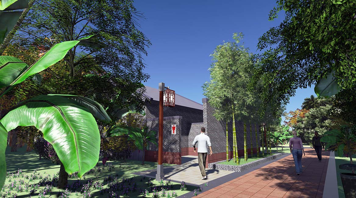 洪梅镇梅沙村湿地公园整体规划设计图7