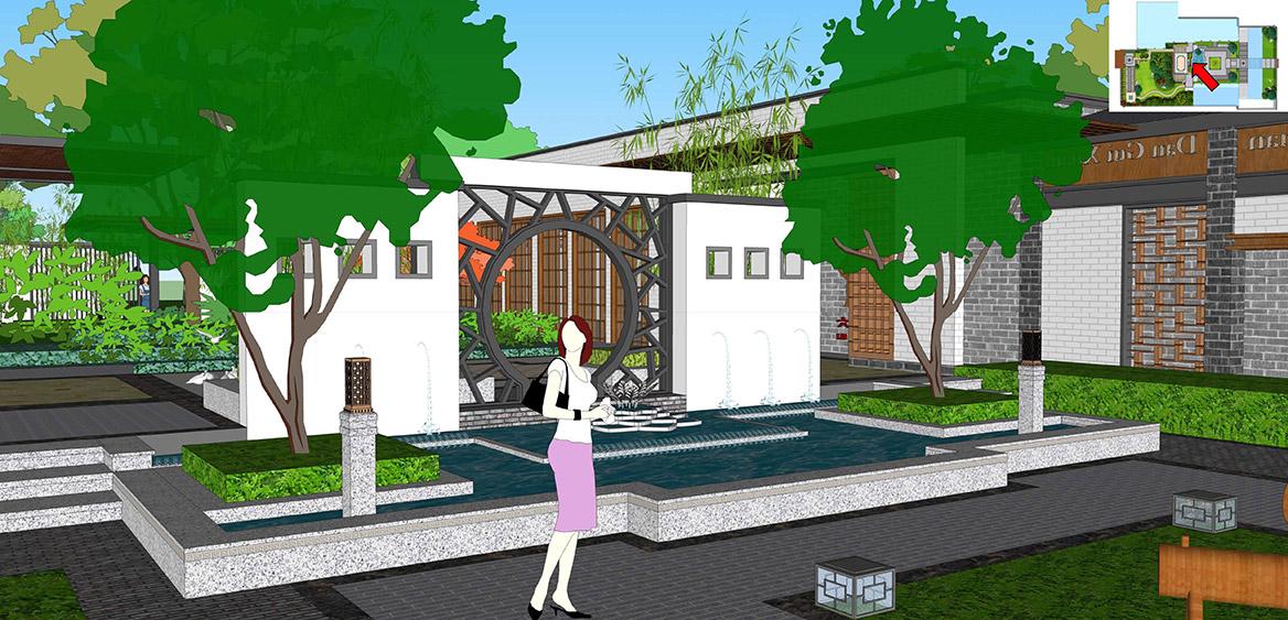 横沥镇六甲村美丽幸福村居建设方案设计图5