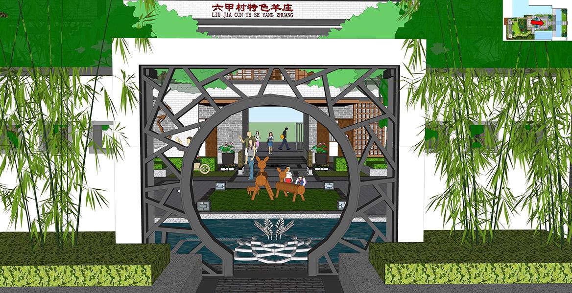 横沥镇六甲村美丽幸福村居建设方案设计图6