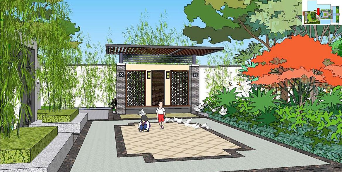 横沥镇六甲村美丽幸福村居建设方案设计图7