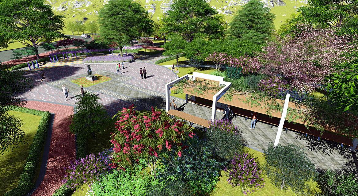 横沥镇田饶步村美丽幸福村居规划方案设计图3