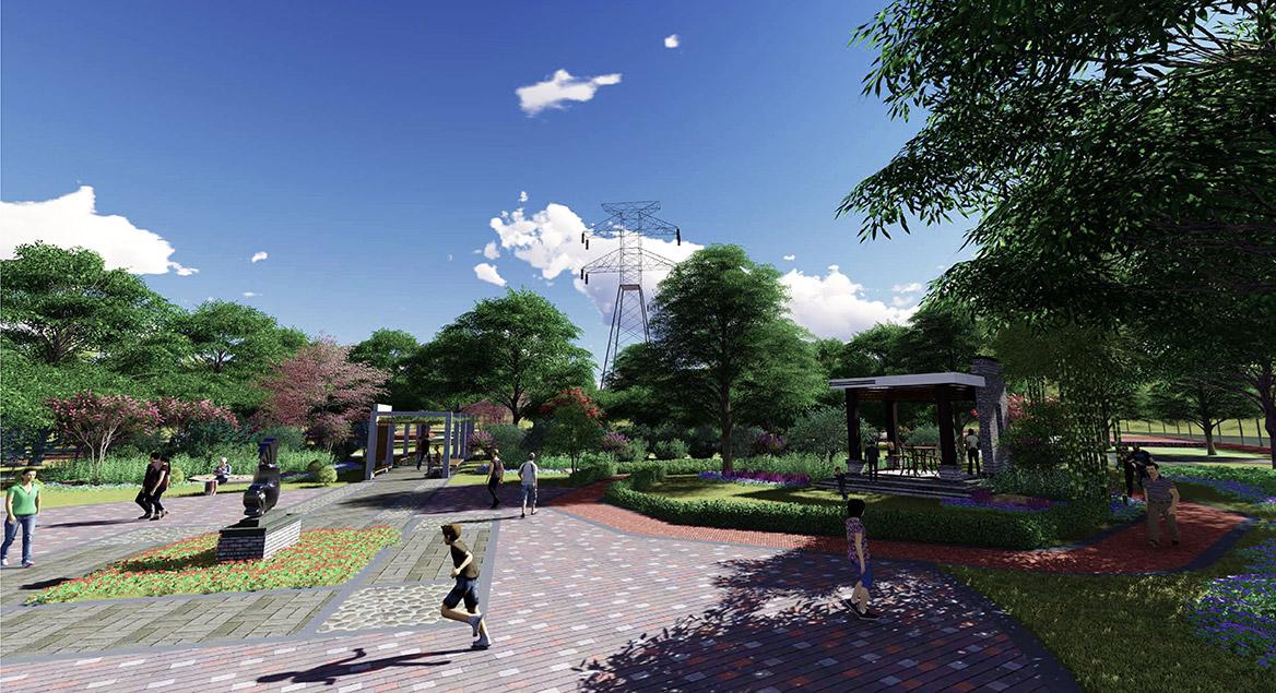横沥镇田饶步村美丽幸福村居规划方案设计图5