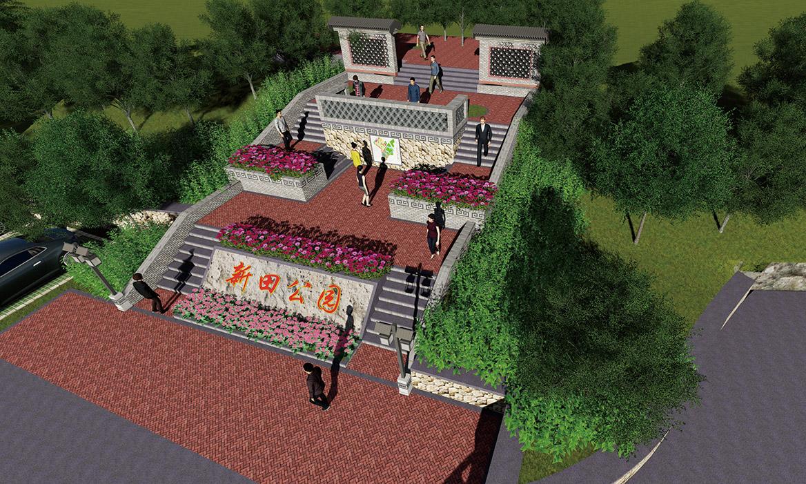 横沥镇田饶步村美丽幸福村居规划方案设计图11