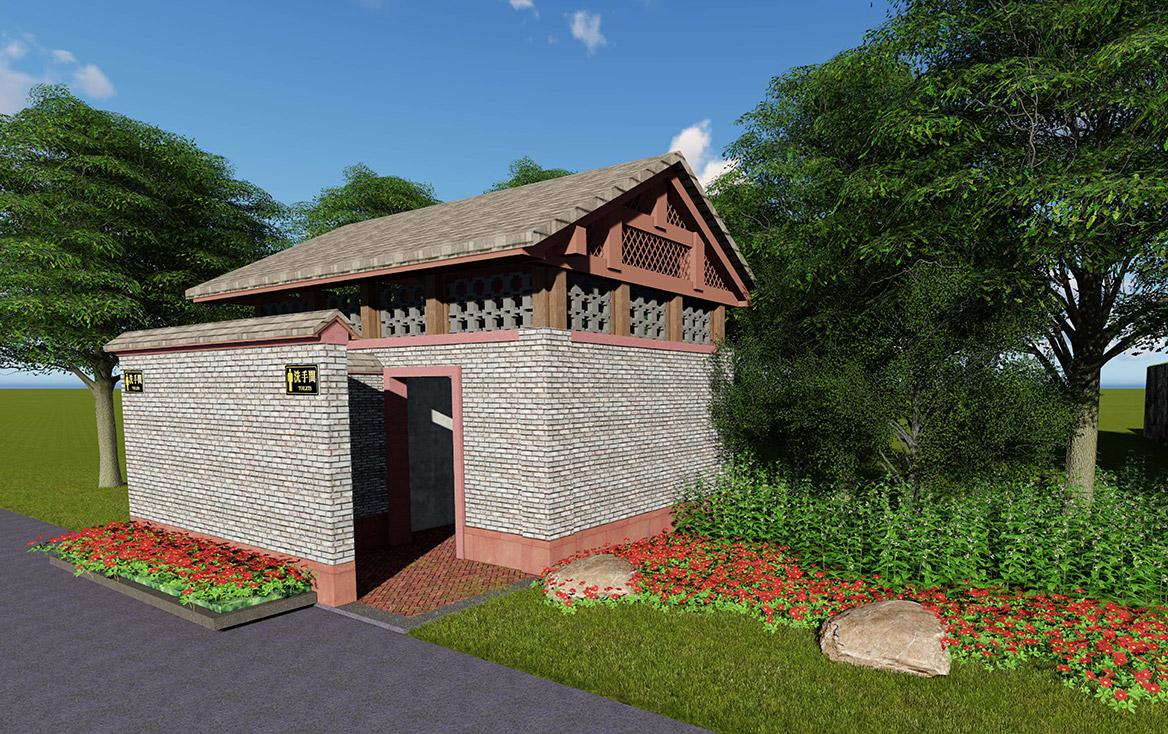 横沥镇田饶步村美丽幸福村居规划方案设计图12