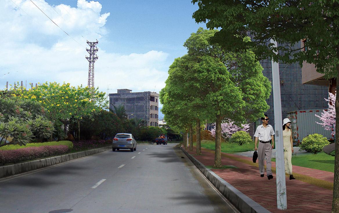 横沥镇田饶步村美丽幸福村居规划方案设计图13