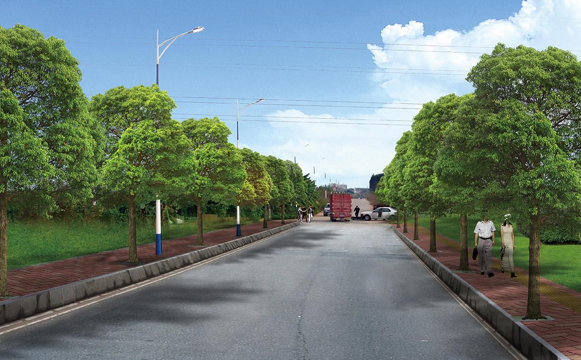 横沥镇田饶步村美丽幸福村居规划方案设计图片