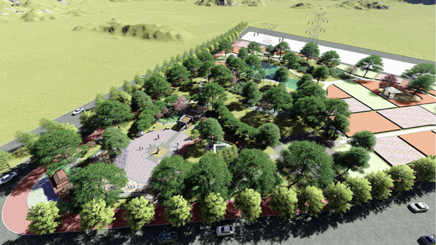 横沥镇田饶步村美丽幸福村居规划方案设计