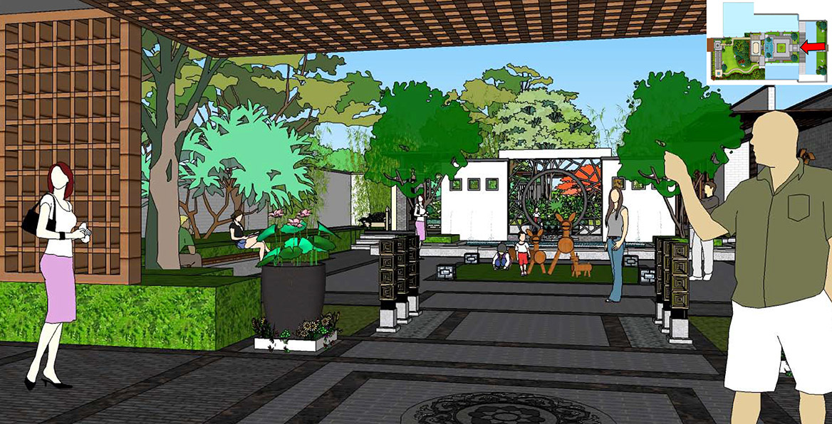 横沥镇六甲村美丽幸福村居建设方案设计图2