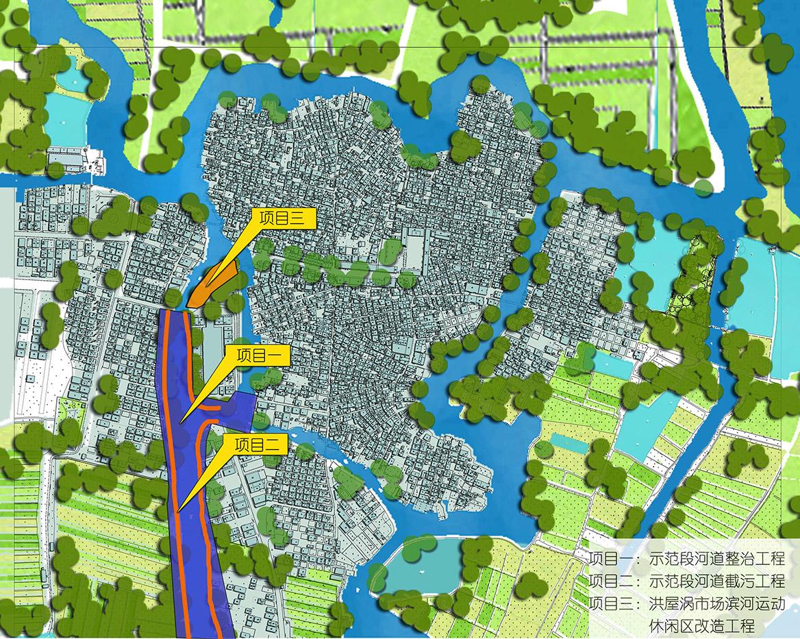 洪梅镇洪屋涡村美丽幸福村居建设行动计划项目效果图2