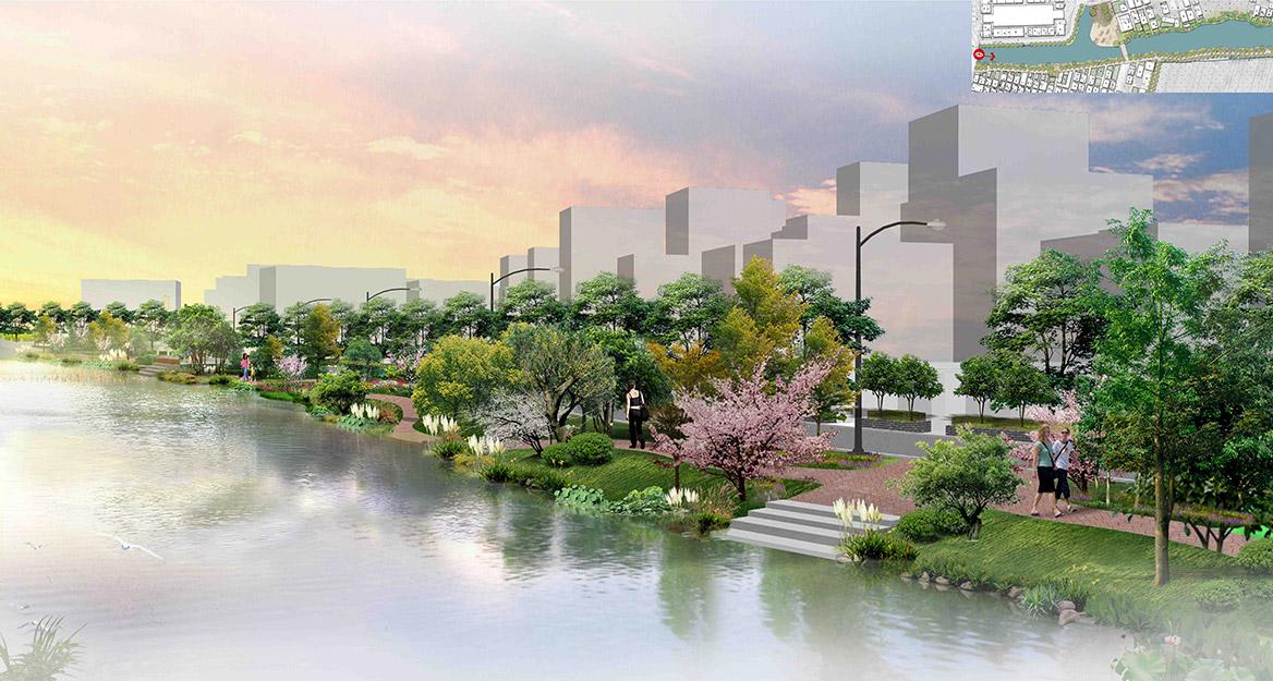 洪梅镇洪屋涡村美丽幸福村居建设行动计划项目效果图3