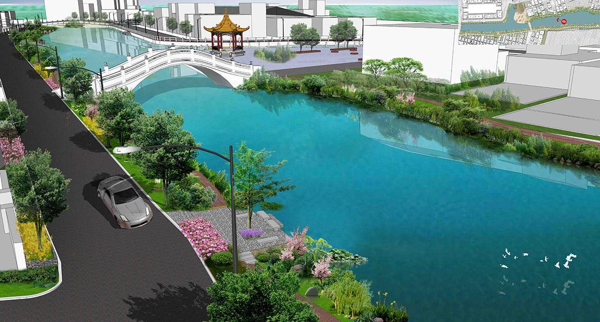 洪梅镇洪屋涡村美丽幸福村居建设行动计划项目效果图5