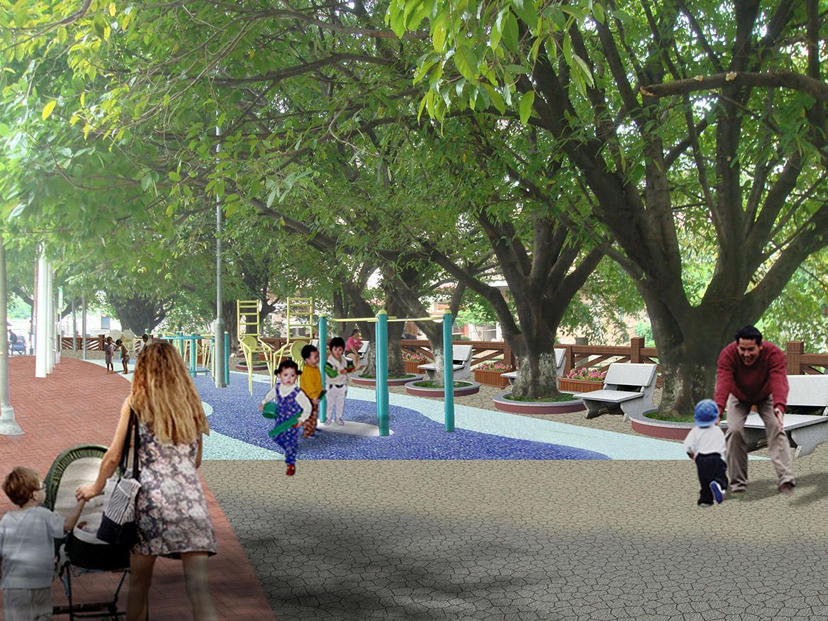 洪梅镇洪屋涡村美丽幸福村居建设行动计划项目效果图6