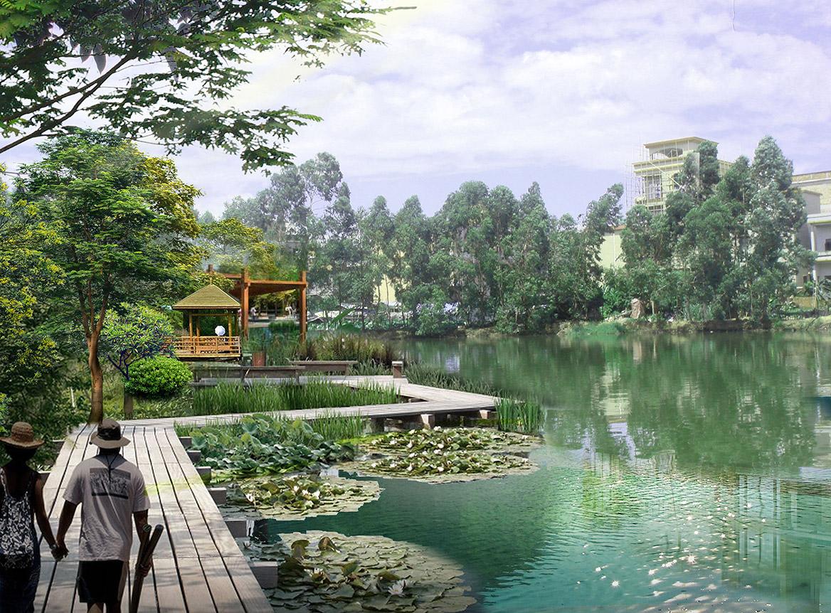 洪梅镇洪屋涡村美丽幸福村居建设行动计划项目效果图10