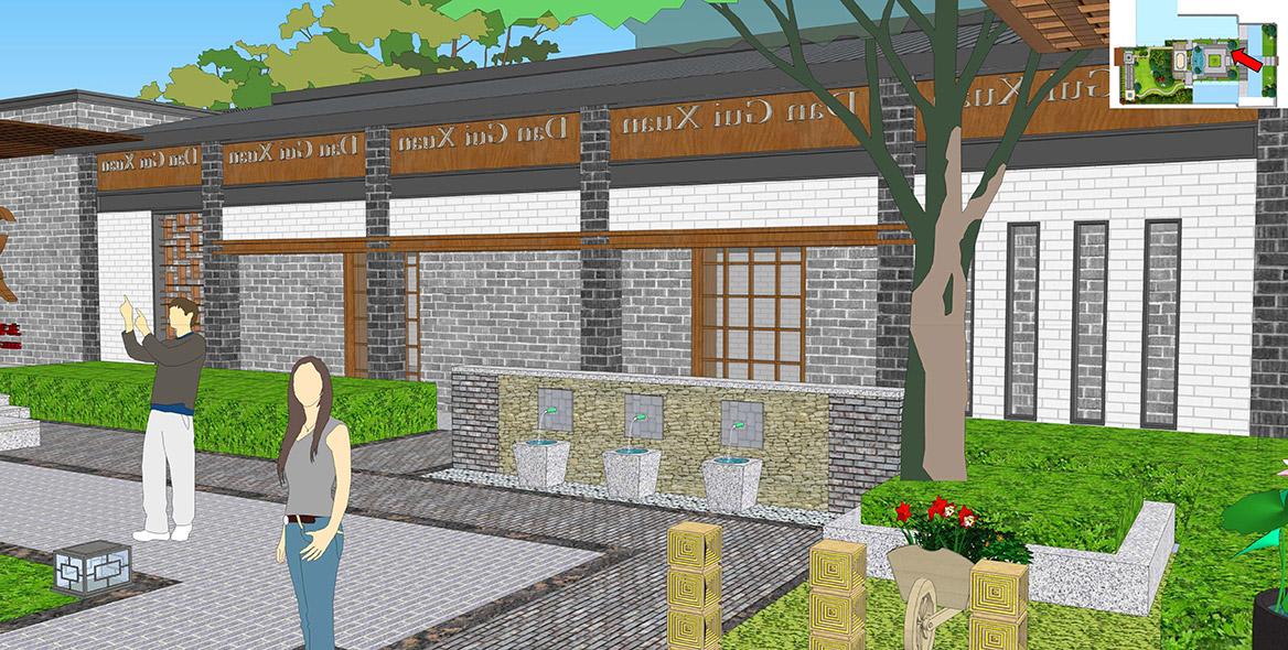 横沥镇六甲村美丽幸福村居建设方案设计图3