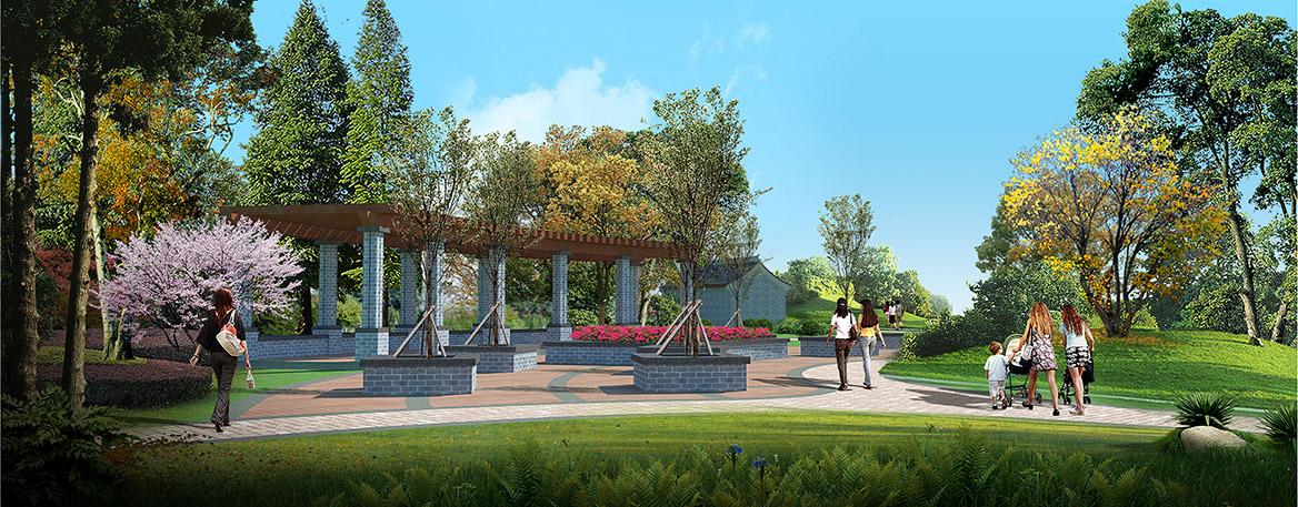 洪梅镇乌沙村美丽幸福村居规划设计方案效果图2