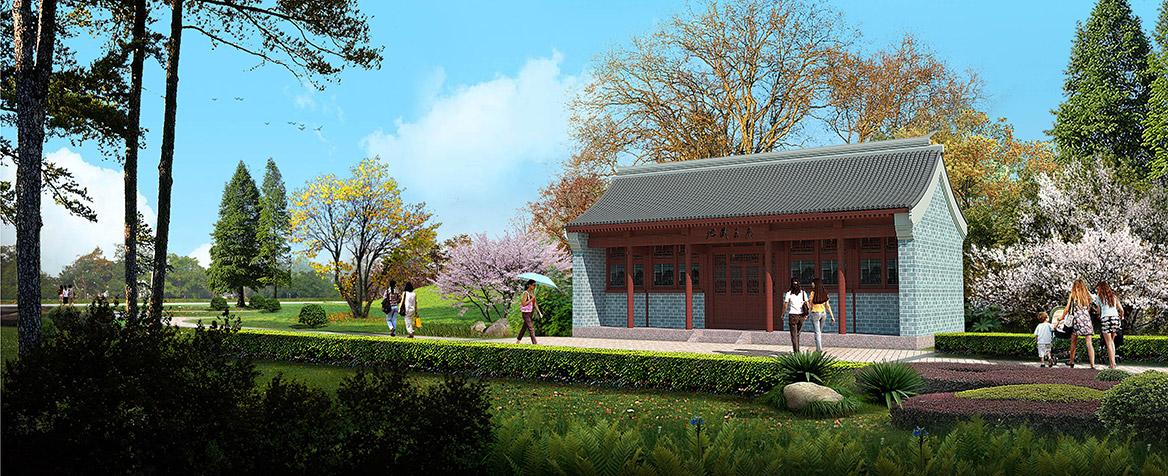 洪梅镇乌沙村美丽幸福村居规划设计方案效果图3