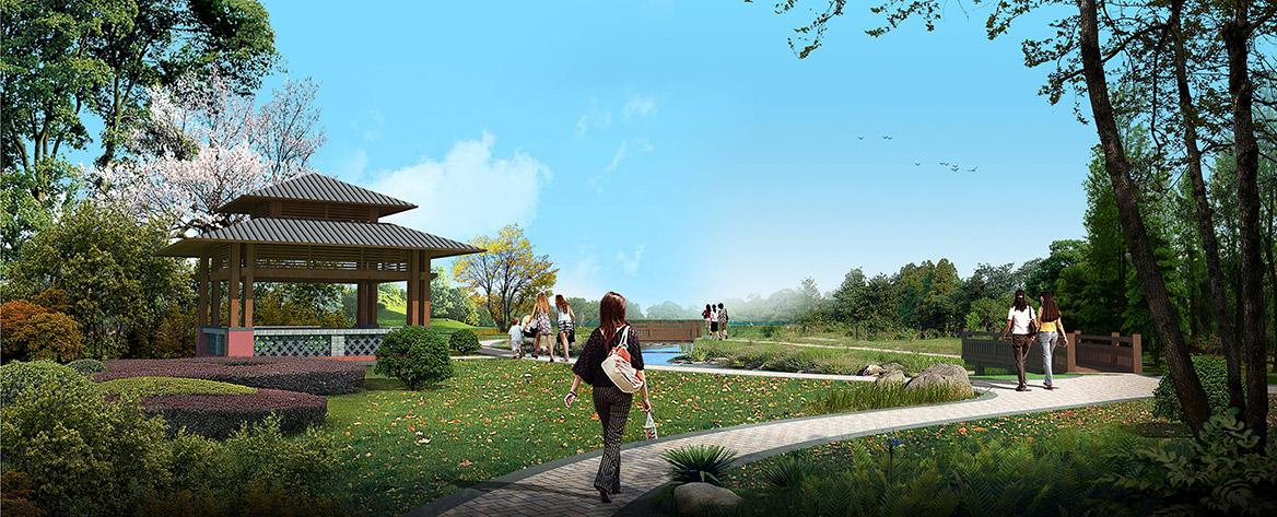 洪梅镇乌沙村美丽幸福村居规划设计方案效果图4