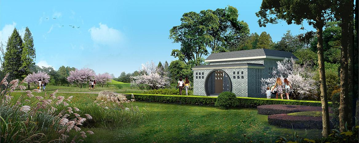 洪梅镇乌沙村美丽幸福村居规划设计方案效果图5