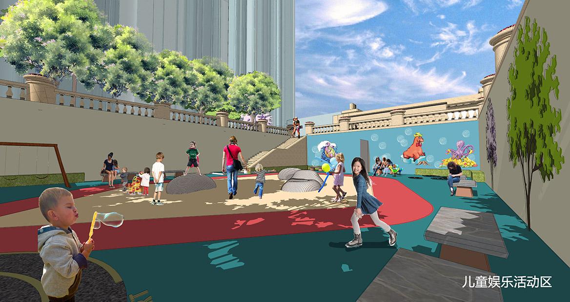 广州荔湖高尔夫苑景观概念方案设计图4