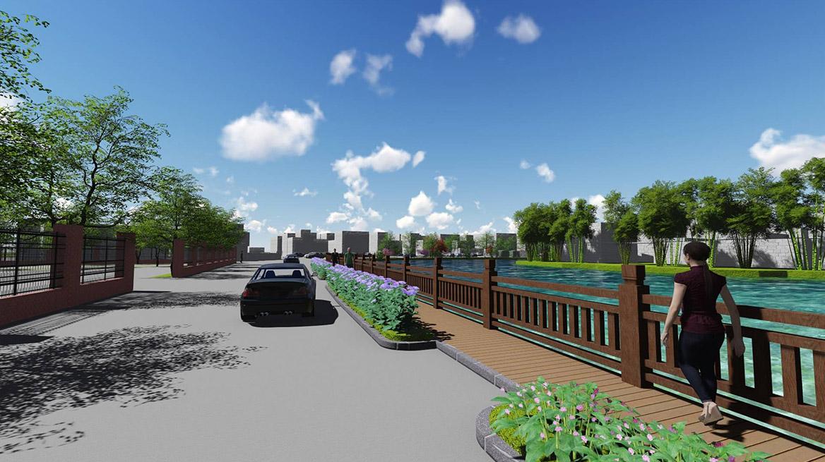 石排镇水贝村美丽幸福村居建设行动计划图2
