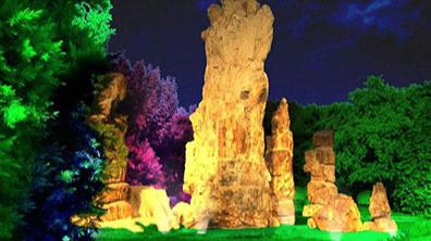 景观设计中灯光的作用不容忽视