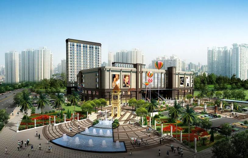 商业广场景观设计图片1