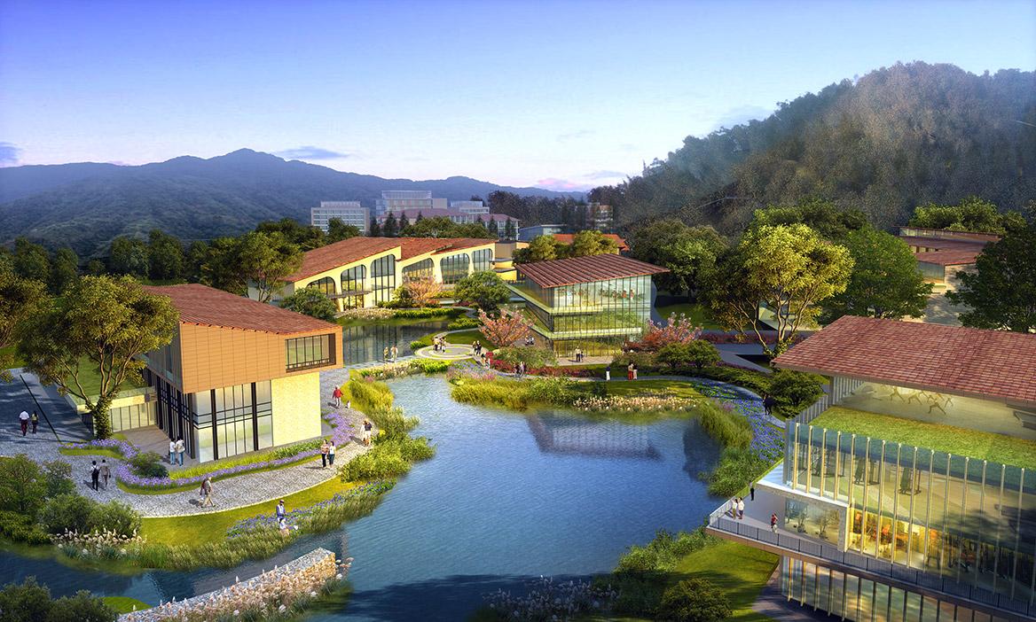 碧森养老养生度假村项目规划设计角度2