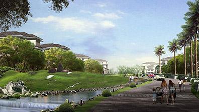 地产景观设计要考虑人性化及艺术感