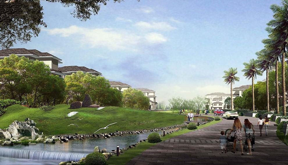 地产景观设计图片