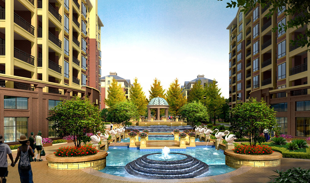 住宅水景设计