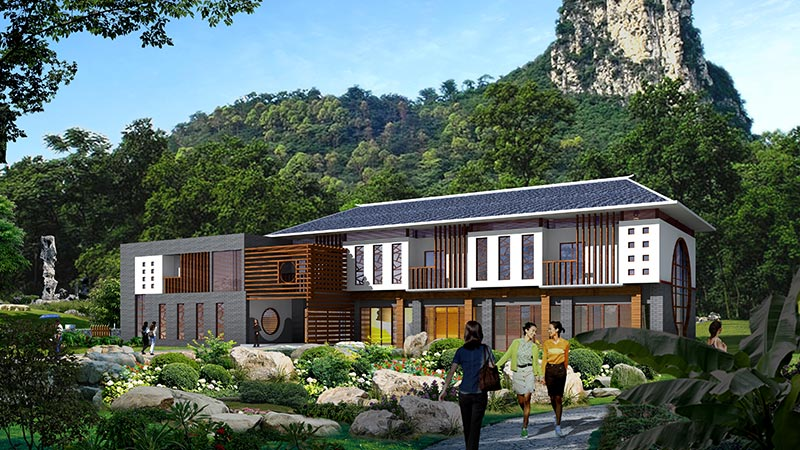 建科为您揭晓别墅庭院设计中的要素