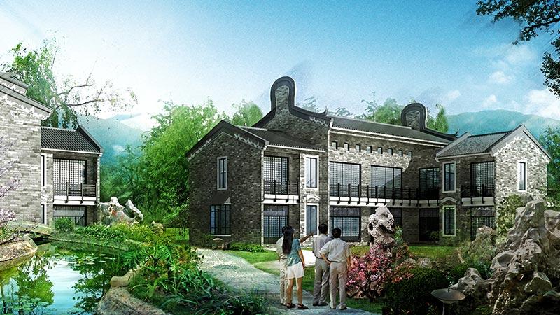 建科为大家揭晓私家别墅花园设计方案